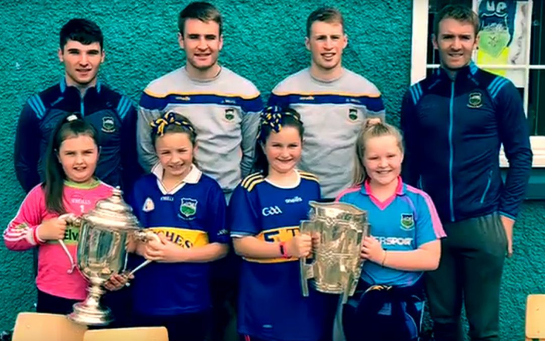 Liam McCarthy and James Nolan Cups